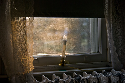 Candle in Window, 2009