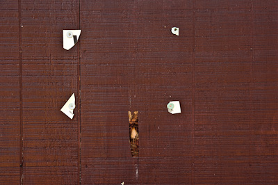 Torn Sign, Branchport, NY 2009