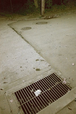 Storm Drain, Night, Jenkintown